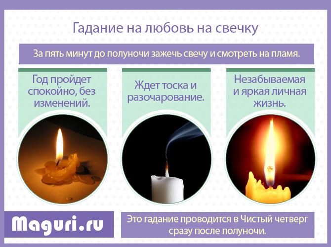 На свечку